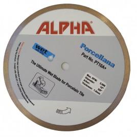 """Alpha Continuous Rim Porcelain Blade 10"""""""