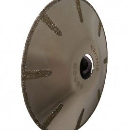 Vector Marble Electroplated Contour Blade 5""