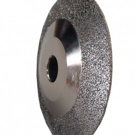 Vector Plus 5 Inch Vacuum Brazed Contour Blade for Marble