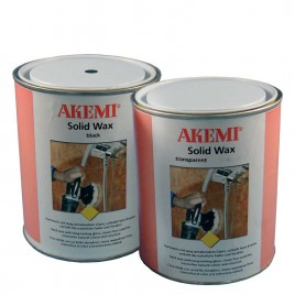 Akemi Solid Wax Black 900 ML