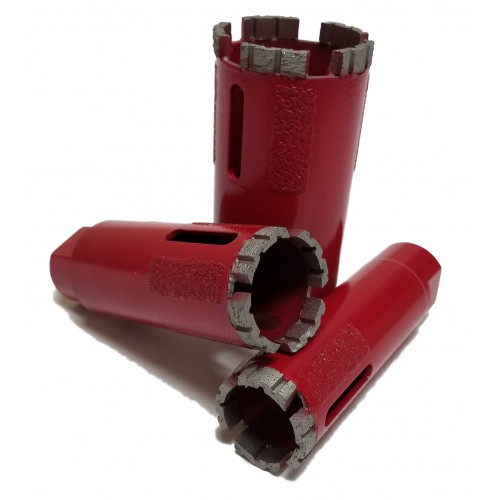 Vector Red Dry Core Bits