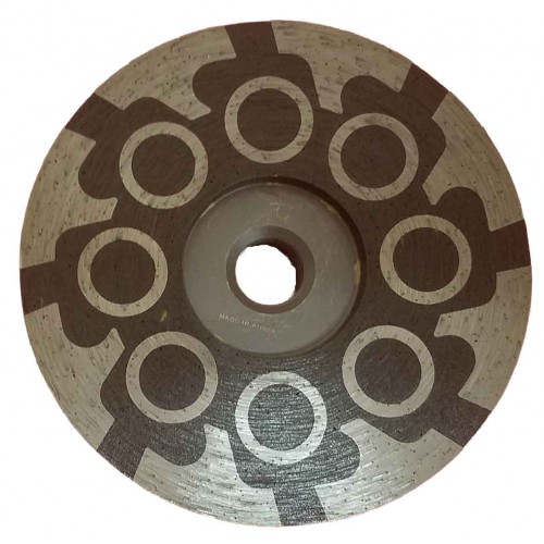 "Vector Echo Resin Cup Wheels - 4"" Circle Pattern"
