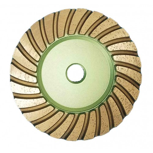 "Vector Turbo Cup Wheels - 4"" Green"