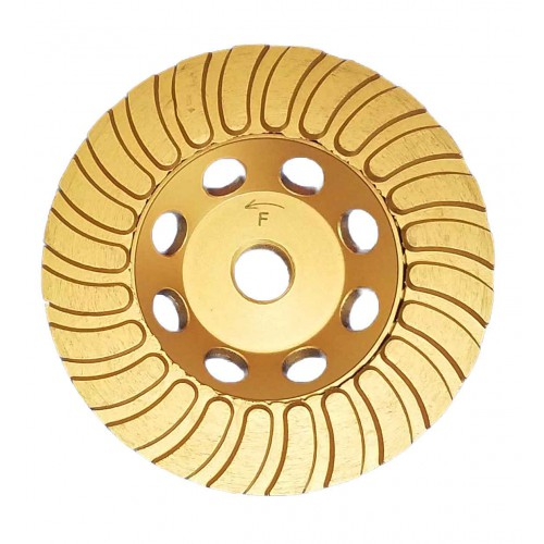 "Vector Echo Turbo Cup Wheels - 4"" Gold"