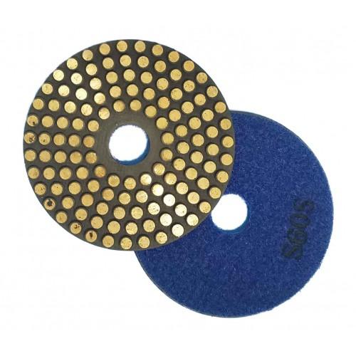 "Vector Vitrified Polishing Pads w/ Velcro - 4"""