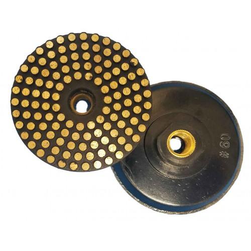 "Vector Vitrified Polishing Pads w/ Hard Backer - 4"""