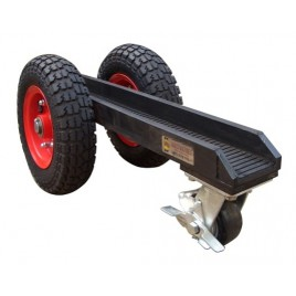 Abaco 3 Wheel Slab Dolly with Black Rubber