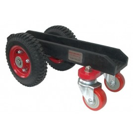 Abaco 4 Wheel Slab Dolly with Black Rubber