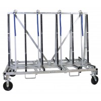 "Groves Heavy Duty Transport Rack  82"" Long x 44"" Wide x 58"" High (4,000lb Capacity)"