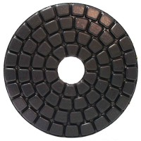 "Alpha Ceramica Pad 4"" Black Buff"