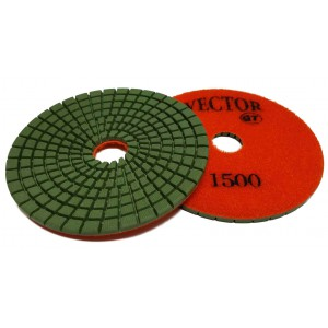 "Vector GT Polishing Pads 4"" 1500 Grit"