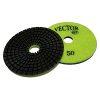 "Vector GT Polishing Pads 4"" 50 Grit"