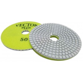 "Polishing Pad Engineered Stone 4"" 50 Grit"