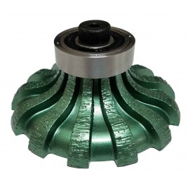 Vector Router Bit - Ogee (F30) Pos 0(Segmented)