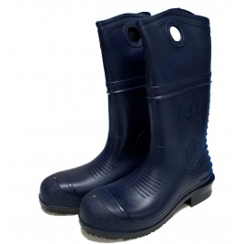 Dunlap Steel Toe Boots - Blue