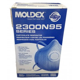 Moldex 2300 Dust Mask with valve 10 pieces