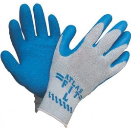 Atlas Blue Cotton Gloves
