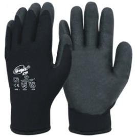 Ninja Black Gloves