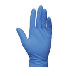 Radnor Blue Nitrile Disposable Gloves