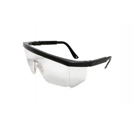 Safety Glasses- Black Frame