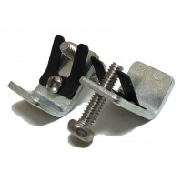 "Go-Clip Stainless Steel - Sink Rims up to 1/8"" Stainless Steel Rims and Tight Spaces"